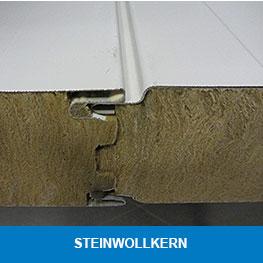 Sandwichpaneele mit Steinwollkern - Syboned B.V.