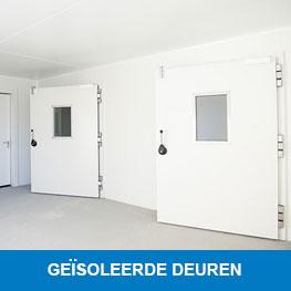 Geisoleerde deuren - Syboned B.V.