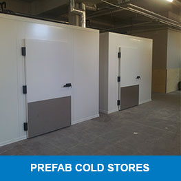 Prefab cold stores - Syboned BV