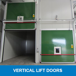 Vertical lift doors - Syboned BV