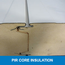 PIR core insulation - Syboned BV