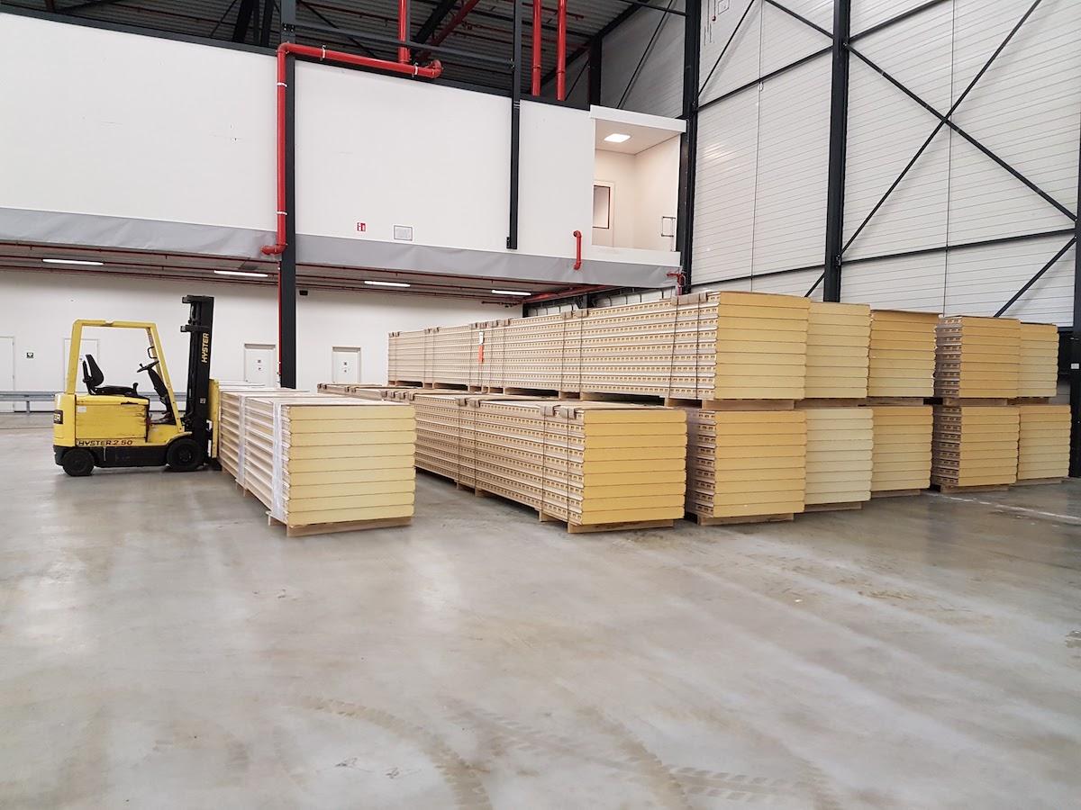Productiehal Waalwijk - Projecten - Syboned B.V.