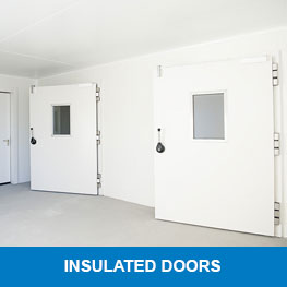 Insulated doors - Syboned BV - Holland